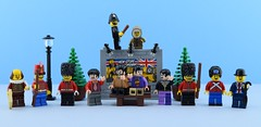 British minifigures👋 (Alex THELEGOFAN) Tags: lego legography minifigure minifigures minifig minifigurine minifigs minifigurines british london uk gb britain great united kingdom beatles lester collectible