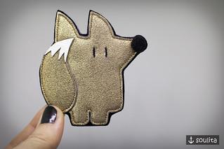 *Golden Fox* - Brosche | Badge | Brooch | Pin