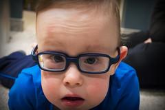 Blue Eyes. Tecumseh, ON. (Paul Thibodeau) Tags: photooftheday tecumseh nikond500 tyson greatnephew baby closeup blueeyes glasses