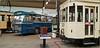 Autobus Leyland et motrice 57, Musée des transports en commun de Wallonie, Liège, Belgium (claude lina) Tags: claudelina belgium belgique belgïe liège musée museum muséedestransportsencommundewallonie tram tramway autobus