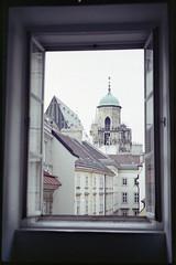 Window view (floripondiaa) Tags: fujica stx1 film 35mm florishootsfilm vienna austria