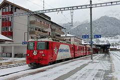 RhB 618, Klosters Platz, 26-11-17 (afc45014) Tags: rhb 618 ge44 klostersplatz rhätischebahn