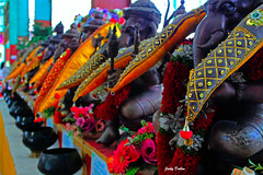 a line of Ganesh… (Jinky Dabon) Tags: canoneos1200d ganesh ganesha ganesa religion hindu elephantheaded hindugod shiva parvati indiagod godofknowledge godofwisdom