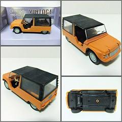 CITROEN MEHARI - MONDO MOTORS (RMJ68) Tags: citroen mehari mondo motors vintage collection diecast coches cars juguete toy 143 scale 1968 1988
