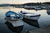 Boats in the port of Le Grazie at dawn - Porto Venere - Liguria - Italy (PascalBo) Tags: nikon d500 europe italia italie italy liguria ligurie laspezia legrazie portovenere sea mer dawn sunrise leverdesoleil boat bateau outdoor outdoors pascalboegli