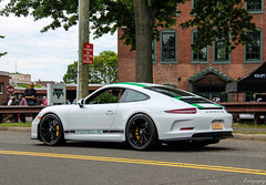 2016 Porsche 911R (Rivitography) Tags: newyork r991 2016 porsche 911r 911 991 green white stripes german car supercar expensive horsepower greenwich connecticut vehicle 2017 canon lightroom rivitography