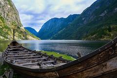 Gudvangen Norway (Geoff Fagan) Tags: norway norwegianfjords fjord fjords sea water waterside mountain mountains boat viking gudvangen flam sony sonyalpha