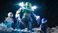 Exo-Skeleton (Agaethon29) Tags: lego afol legography brickography legophotography minifig minifigs minifigure minifigures toy toyphotography macro cinematic 2017 legospace neoclassicspace spaceman classicspace space scifi sciencefiction ncs novateam customminifigure moc exosuit