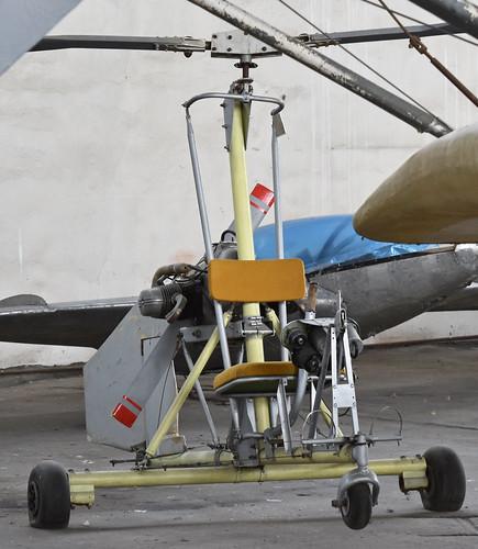 Unknown Autogyro – Monino museum, Russia.