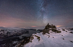Ben A'an the stars (chrismarr82) Tags: nikon scotland astro ben aan night tamron stars snow winter