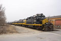 PREX 2003 East (BSTPWRAIL) Tags: kjry keokuk junction prex pioneer gp20 fp9a fp9b locomotive locomotives railroad railway rail road way manifest mixed freight transfer train peoria illinois