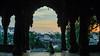 Guardian of the Ghats (sakthi vinodhini) Tags: indore madhyapradesh india incredible palace holkars maratha rajwada travel sunrise bird silhouette serene tree sky park sunset road dawn temple dogs pet