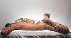 pinz3 (shibarigarraf) Tags: shibari kinbaku bondage rope male malebondage shibarigarraf clothespin
