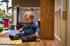 Will - 10.75 months old (Katherine Ridgley) Tags: toronto torontobaby baby babyboy cutebaby crawl crawling moving move indoor indoors house home play toy babytoy