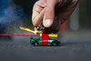 The Rocket Car (KanteTelemaque) Tags: cars firedepartment kids toys fireworks learn physics play propeller propulsion rocket fire lighter flame flamable blackpowder sparks
