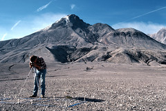 Mount St. Helens in 1983 (Roland de Gouvenain) Tags: sthelens mount scientist field zone blast