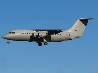 Royal Air Force   British Aerospace BAe-146-200QC C3   ZE708