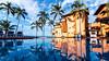 Puerto Vallarta, Mexico (guavilab) Tags: tules water beach sun sky blue clouds nubes cielo sol playa alberca mar palmeras vacaciones descanso