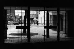 Behind bars (Leica M6) (stefankamert) Tags: stefankamert street behindbars bars balingen analog film grain mood bw baw blackandwhite blackwhite noir noiretblanc kodak trix leica m6 leicam6 rangefinder summitar lines