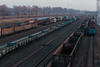 IMG_0574 (1_spacecake) Tags: railroad rail warsaw train deliver cargo winter poland cold perspective abstract lonely urban city photo photography canon550d canon 50mm tree sky car