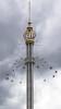 The Eclipse - tower swing.  Grona Lund Amusement Park. Djurgården Island.  Stockholm, Sweden. (LKungJr) Tags: swing gronalund sweden djurgårdenisland stockholm amusementpark f