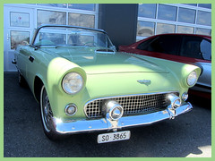 Ford Thunderbird, 1955 (v8dub) Tags: ford thunderbird 1955 t bird schweiz suisse switzerland langenthal american roadster pkw voiture car wagen worldcars auto automobile automotive old oldtimer oldcar klassik classic collector