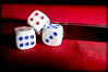 Three Dice. . . (CWhatPhotos) Tags: cwhatphotos olympus dice macro three tg4 tough closeup microscope setting ornament shadow shadows dark digital camera photographs photograph pics pictures pic picture image images foto fotos photography artistic that have which with contain artistc art color colors colours colour red close up
