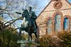 Marcus Aurelius Statue (Chen Yiming) Tags: newengland northeastern eastcoast providence brownuniversity university rhodeisland ri statue marcusaurelius rome ruthsimmonsquadrangle equestrianstatue
