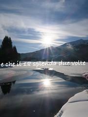 Buon 2018 (CANETTA Brunello) Tags: riflesso sole solo lago anno buon 2028