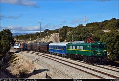 Japan machine (Trenes2000) Tags: renfe trenes 289 navidad costas 289015 trenes2000 pardo historico diesel electrico 333 333402 madrid pitis principe pio viajeros