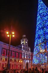Puerta del Sol (Julio Millán) Tags: luces navidad puertadelsol madrid españa