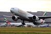 Double Triple (A6-EBT) (Fraser Murdoch) Tags: a6ebt a6 ebt enc a6enc b777 b773 b77w 777 773 77w boeing 777300 77731her 777300er emirates ek uae dubai omdb dxb ek27 ek2551 ek2552 uae27 uae2551 uae2252 uae28 ek28 aviation aircraft glasgow international airport gla egpf canon eos 650d photography fraser murdoch scotland middle east winter new year 2018 take off plane aeroplane airplane heavy two double rare