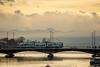 Tram on a bridge (jaeschol) Tags: europa kontinent schweiz suisse switzerland zürich ch