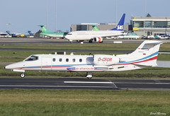 Air Alliance Express LearJet 35A D-CFOR (birrlad) Tags: dublin dub international airport ireland aircraft aviation airplane airplanes bizjet private passenger jet taxi taxiway takeoff departing departure runway air alliance express learjet 35a dcfor gates lj35 lupus