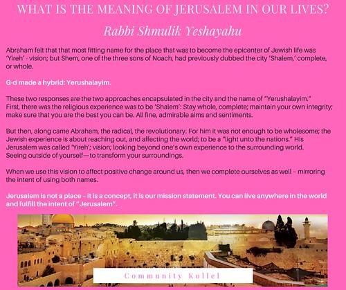 jerusalem fb 2017, answer