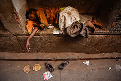 One another side of my country!!! (Harshal Orawala) Tags: poverty indi india varanasi saynotopoverty lights