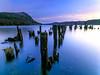 Start of the Day (at Invermoriston) (Stoates-Findhorn) Tags: blue 2017 sunrise winter pier dawn twilight highlandinvermoriston scotland ruin lochness invermoriston unitedkingdom gb olympusflickraward