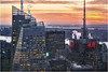 New York (beninfreo) Tags: newyork christmas xmas lowermanhattan rockefellercentre topoftherock sunset lights colour canon 5d3 bankofamericatower timessquare hm steam 4timessquare condenast