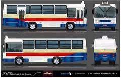 24882827_1372592249513815_2071318150_o reflexo (busManíaCo) Tags: desenho drawn desenhodeônibus busmaníaco caiogabriela mercedesbenz