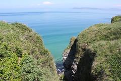 IMG_3698 (avsfan1321) Tags: ireland northernireland unitedkingdom uk countyantrim ballycastle carrickarede carrickarederopebridge nationaltrust landscape green blue ocean atlanticocean
