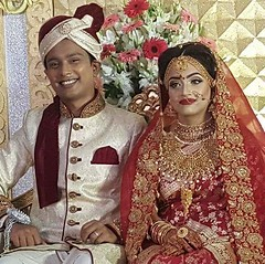 On the occasion happy wedding of Tahsin Nawar (Laaz) at Proyash Community Hall. Dhaka Cantonment dt 29-12-2017 #Sylhet #Dhaka #Bangladesh (Abdur Rob photography) Tags: dhaka sylhet bangladesh