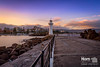 Break Water Sunset (geekmasterzero) Tags: lighthouse light water longexposure purple newsouthwales nisi filters