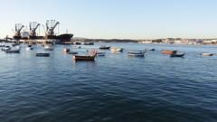 Trafaria (Hugo Albuquerque) Tags: trafaria porto embarcação barco barcos rio riotejo luz paisagem landscape