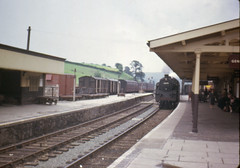 Photo of 1963 4MT 80078 at Newtown Station Powys