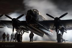Lancaster NX611 (AdrianH Photography) Tags: nikon aviation aeroplanes warbirds lincolnshire