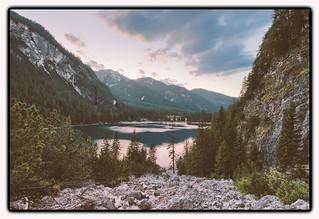 scree field at the Lago di braies