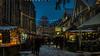 Christmas Market (Norbert Clausen) Tags: thebluehour church chapel weihnachtsmarkt christmasmarket christmas weihnachten blaue stunde blue hour
