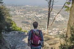 Pequeño viajero (palm z) Tags: sintra portugal castelo mouros castillo moros ruinas julen