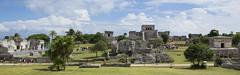 Tulum (Aleah Carr) Tags: tulum ruins maya mayan mexico blue skies stone temples