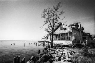 Lake House in Disrepair